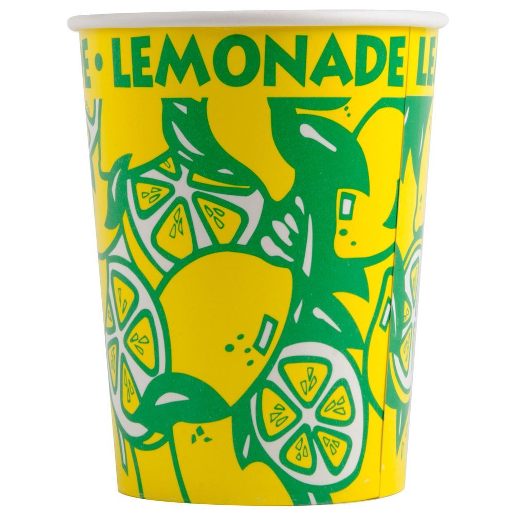 32 ounce Lemonade Squat Paper Cup