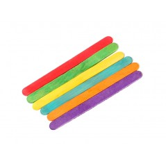 "4.5"" Colored Craft Sticks 10 boxes of 1000= 10,000"