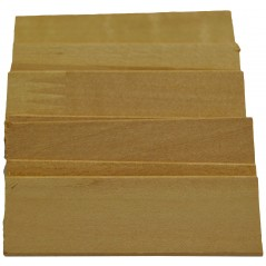 "2"" Wooden Shingles -400ct Mini Wood (Pack of 100)"