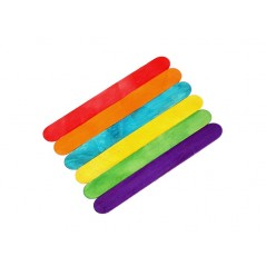 Colored Jumbo Craft Sticks 10 boxes of 500ct= 5,000