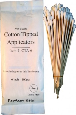 "6"" Cotton Tip Applicators Box of 1,000ct"