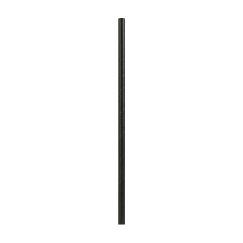"5.25"" Black Paper Cocktail Straws"