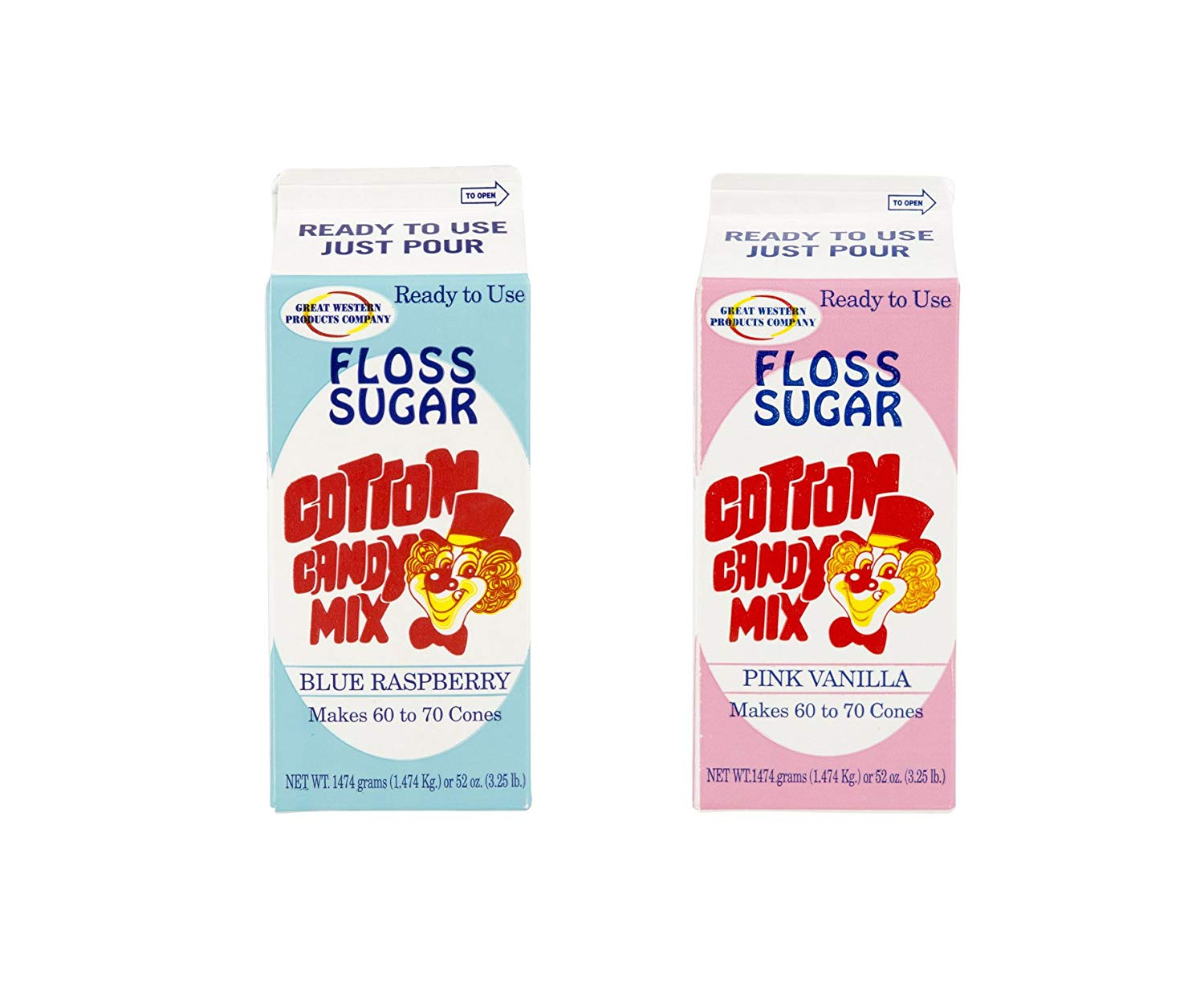 Cotton Candy Sugar 2 Pack