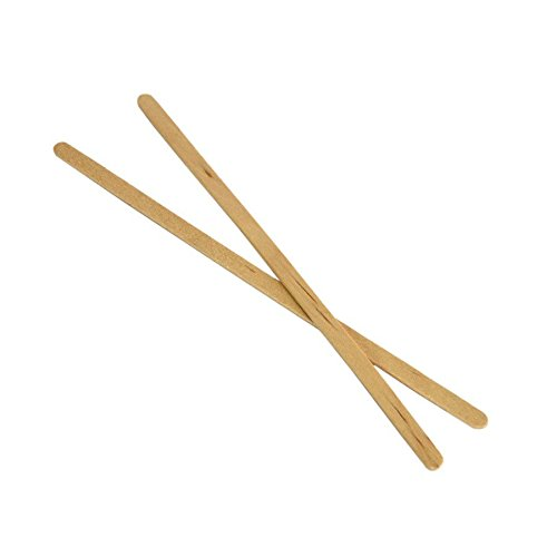 "7"" Coffee Stirrers With Round Ends Case of 10 boxes/1,000ct = 10,000ct (Item# FS203)"