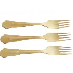 Perfect Ware Green Forks 200 (5,000ct)