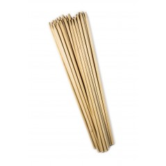 "30"" x 1/4"" Semi-Pointed Corn Dog Sticks Case of 4 boxes/500ct = 2,000ct"