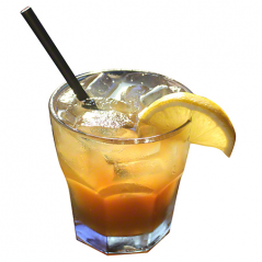 Paper Straw 5.75 Black- Cocktail Coffee Black Straw-500 count