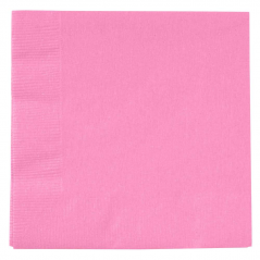 Paper Beverage Napkin- 2 ply Candy Pink- 600 Pack