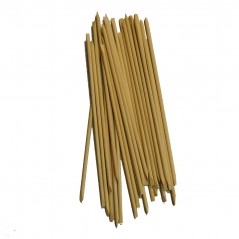 """7"""" Cuticle Sticks Double Beveled both Ends Case of 5,000ct"""