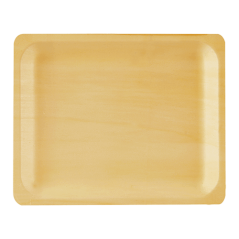 Perfectware Wooden Plate 10