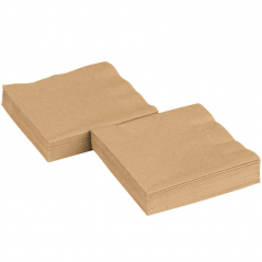 Paper Beverage Napkin 2 Ply-Gold- 600ct