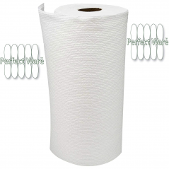 Perfectware - PW- Paper Towels- 8 Paper Towels - Pack of 8 Rolls ( 80 Sheets Per Roll)