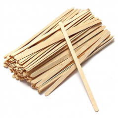 "5 1/2"" Coffee Stirrers With Round Ends Box of 1,000ct ( Item# FS201-5.5)"